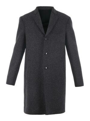 Michael Kors: knee length coats - Wool blend classic coat