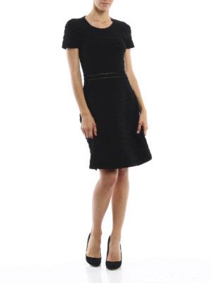 Michael Kors: knee length dresses online - Ribbed dress