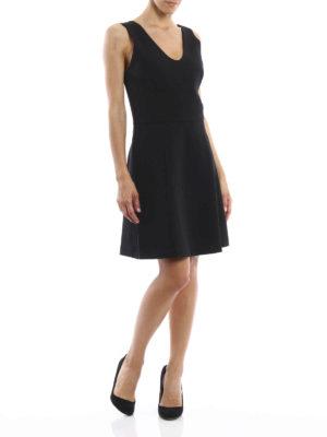 Michael Kors: knee length dresses online - V neck dress