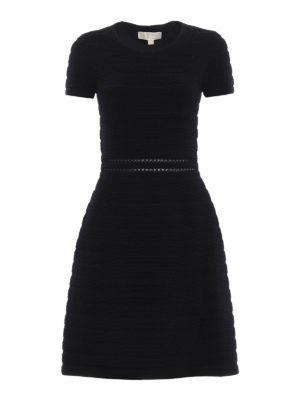 Michael Kors: knee length dresses - Ribbed dress