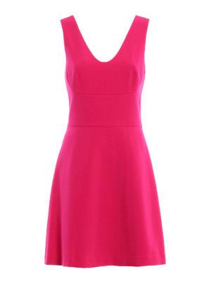 Michael Kors: knee length dresses - V neck dress