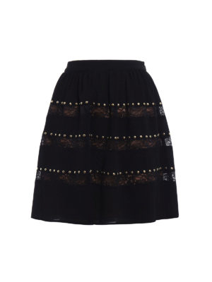Michael Kors: Knee length skirts & Midi - Crepe embellished circle skirt