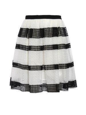 Michael Kors: Knee length skirts & Midi - Lace and macramé circle skirt