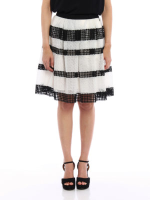 Michael Kors: Knee length skirts & Midi online - Lace and macramé circle skirt