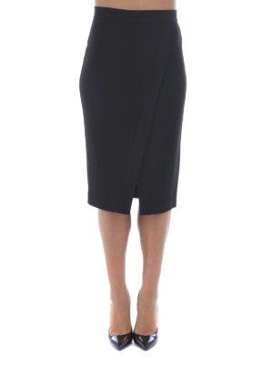 Michael Kors: Knee length skirts & Midi online - SPLIT FRONT PENCIL SKIRT