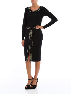 Michael Kors: Knee length skirts & Midi online - Studded viscose skirt