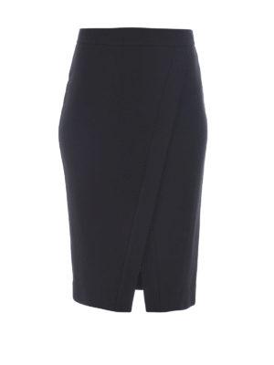 Michael Kors: Knee length skirts & Midi - SPLIT FRONT PENCIL SKIRT