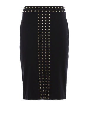 Michael Kors: Knee length skirts & Midi - Studded viscose skirt