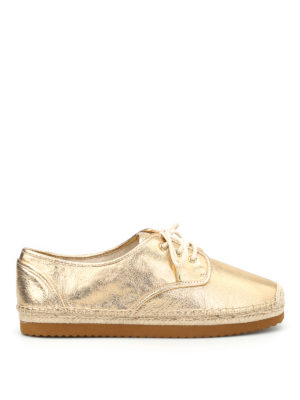 Michael Kors: lace-ups shoes - Hastings laced-up espadrilles