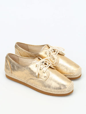 Michael Kors: lace-ups shoes online - Hastings laced-up espadrilles
