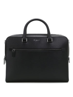 Michael Kors: laptop bags & briefcases - Harrison leather medium briefcase