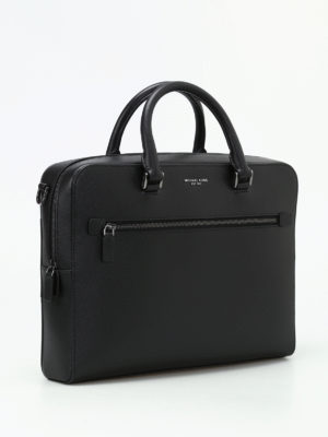 Michael Kors: laptop bags & briefcases online - Harrison leather medium briefcase