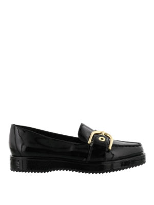 Michael Kors: Loafers & Slippers - Cooper platform patent loafers