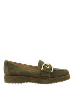 Michael Kors: Loafers & Slippers - Cooper platform suede loafers