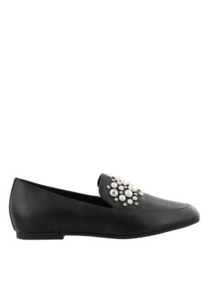 MICHAEL KORS: Mocassini e slippers - Mocassini Gia con perle e borchie
