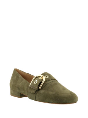 Michael Kors: Loafers & Slippers online - Cooper buckle suede loafers