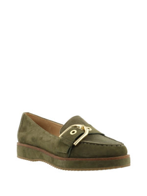 Michael Kors: Loafers & Slippers online - Cooper platform suede loafers