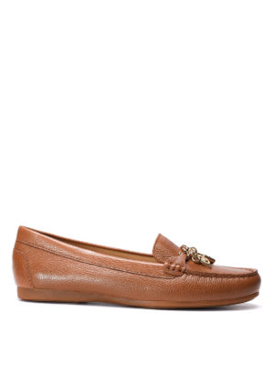 Michael Kors: Loafers & Slippers - Suki leather loafers