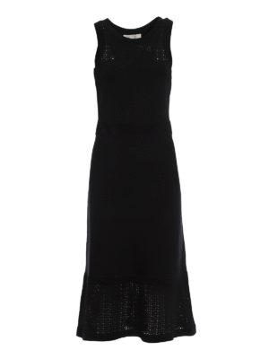 Michael Kors: maxi dresses - Elasticated viscose long dress