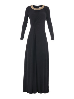 Michael Kors: maxi dresses - Embellished jersey maxi dress