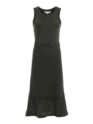 Michael Kors: maxi dresses - Jersey sleeveless dress