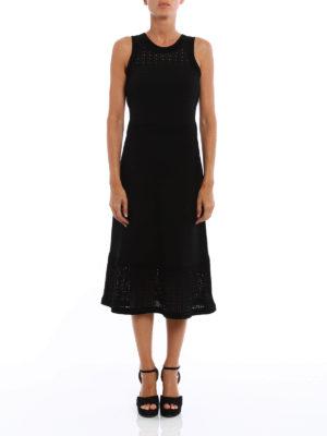 Michael Kors: maxi dresses online - Elasticated viscose long dress