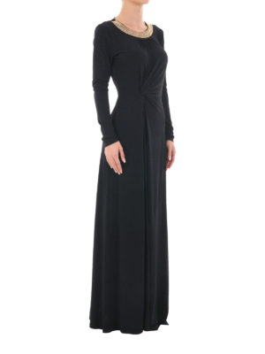 Michael Kors: maxi dresses online - Embellished jersey maxi dress