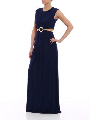 Michael Kors: maxi dresses online - Viscose cut-out detailed dress