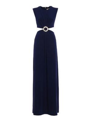 Michael Kors: maxi dresses - Viscose cut-out detailed dress