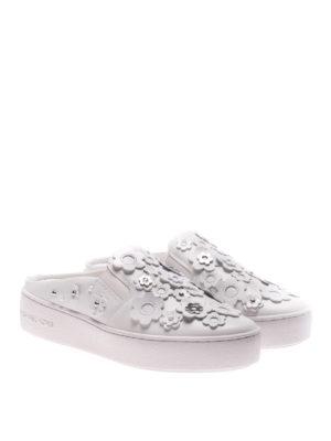 Michael Kors: mules shoes online - Vanna leather mules