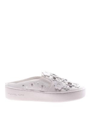 Michael Kors: mules shoes - Vanna leather mules