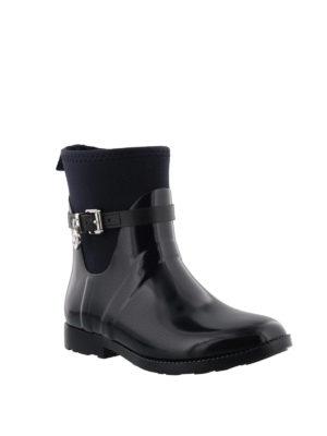 MICHAEL KORS: tronchetti online - Stivali da pioggia gomma e neoprene