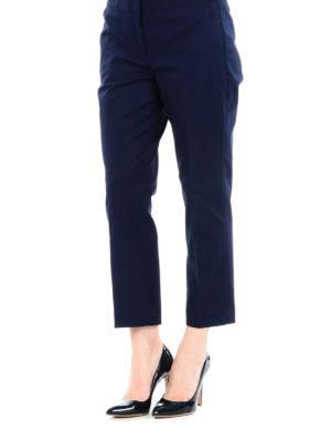 MICHAEL KORS: pantaloni casual online - Pantaloni chino crop blu