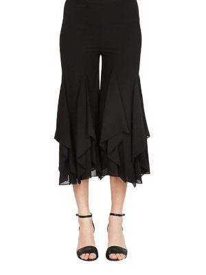 MICHAEL KORS: pantaloni casual online - Pantaloni in georgette con volant