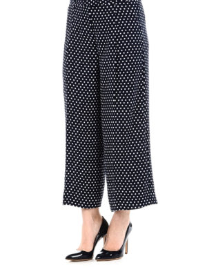 MICHAEL KORS: pantaloni casual online - Culotte in tessuto tecnico a pois