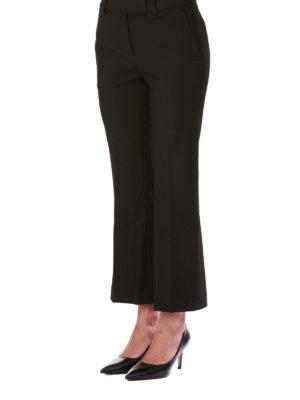 MICHAEL KORS: pantaloni casual online - Pantaloni crop a zampa in misto viscosa