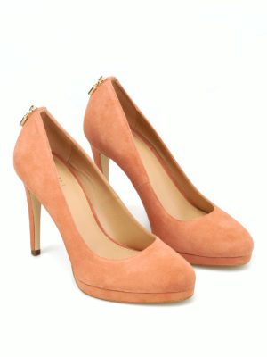 MICHAEL KORS: scarpe décolleté online - Décolleté Antoinette in camoscio