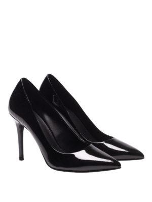 MICHAEL KORS: scarpe décolleté online - Décolleté nere Claire in vernice