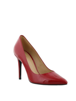 MICHAEL KORS: scarpe décolleté online - Décolleté Claire in vernice rossa