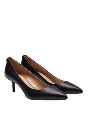 MICHAEL KORS: scarpe décolleté online - Décolleté nere Flex con tacco a rocchetto