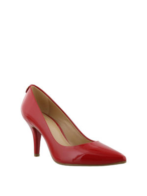 MICHAEL KORS: scarpe décolleté online - Décolleté rosse Flex Mid-heel