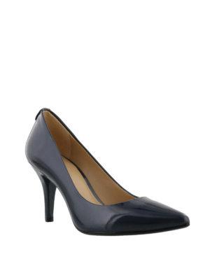 MICHAEL KORS: scarpe décolleté online - Flex Mid Pump in vernice blu