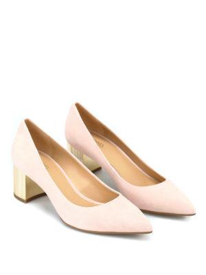 MICHAEL KORS: scarpe décolleté online - Décolleté Paloma Flex in camoscio