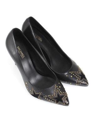 MICHAEL KORS: scarpe décolleté online - Décolleté Sia in pelle con borchie