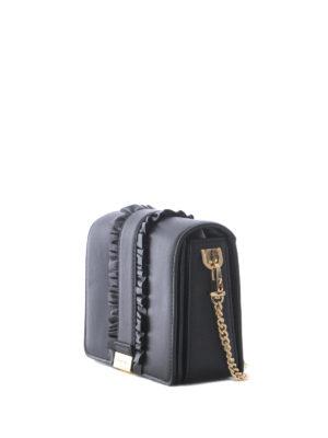 MICHAEL KORS: borse a tracolla online - Tracolla Jade con catena dorata