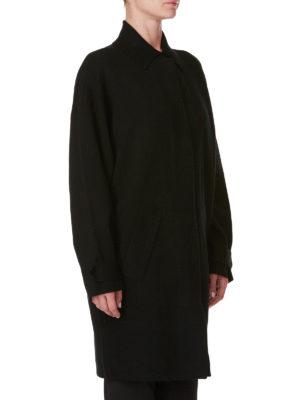 MICHAEL KORS: cappotti al ginocchio online - Cappotto semplice in misto lana merino