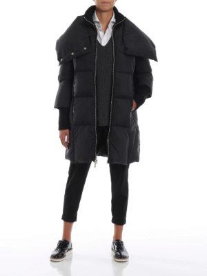 MICHAEL KORS: cappotti imbottiti online - Piumino opaco trapuntato a quadri