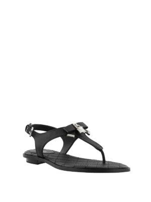 MICHAEL KORS: sandali online - Sandali Alice in nappa nera