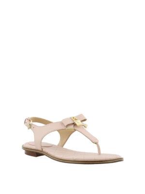 MICHAEL KORS: sandali online - Sandali rosa Alice in nappa