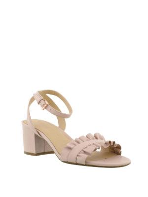 MICHAEL KORS: sandali online - Sandali flex mid Bella rosa
